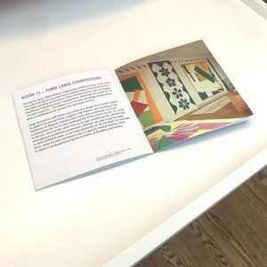 🎨Henri Matisse museum pamphlet, FREEBIE in bundle